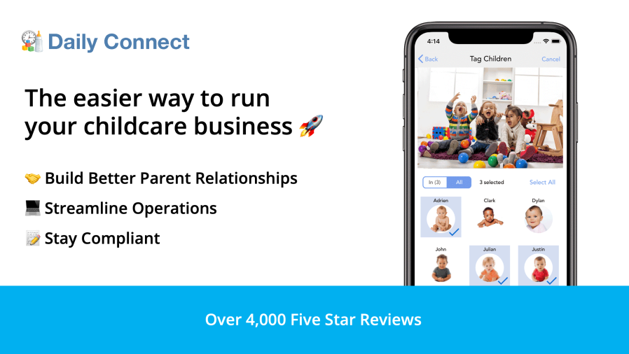 Daily Connect - The easier way to run your childcare business