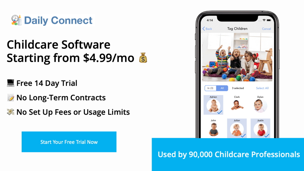 Daily Connnect Childcare Software Platform